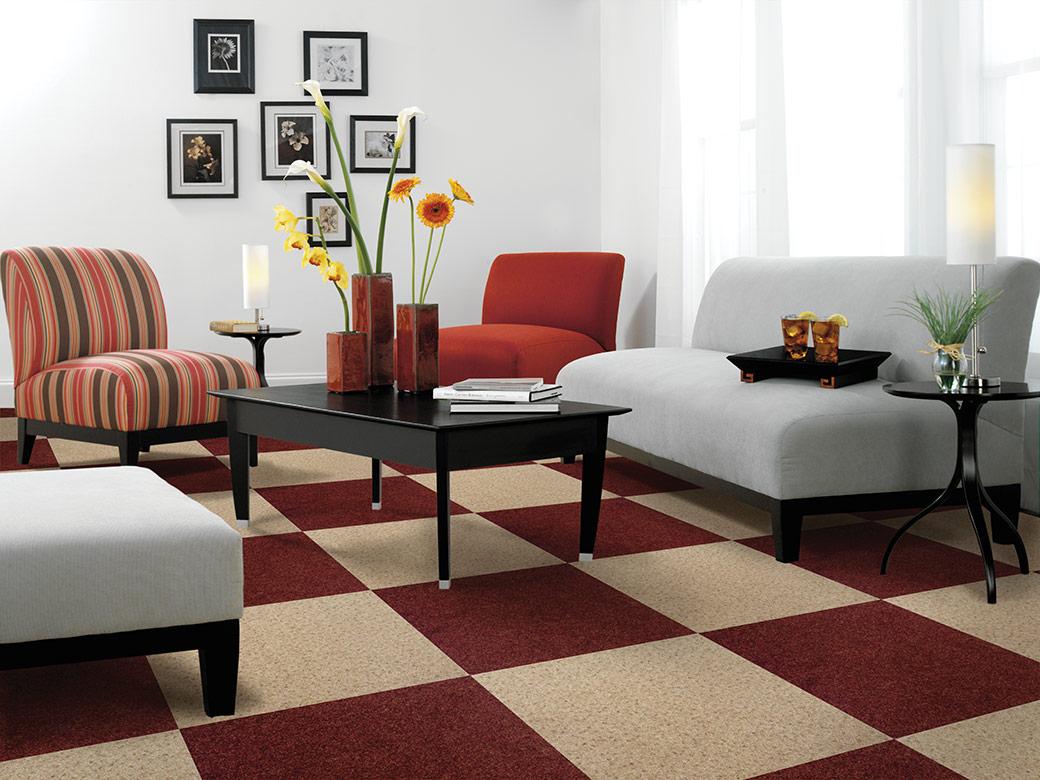 modern living room carpet and furniture bellingham